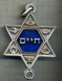 ZET 525 MEDALIE- MEDALION EVREIESC, CU SIMBOLURI RELIGIOASE CRESTINE SI MASONICE