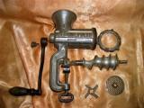 Masina tocat carne, nr 8, din fonta, Alexander Werk-Germany, vintage