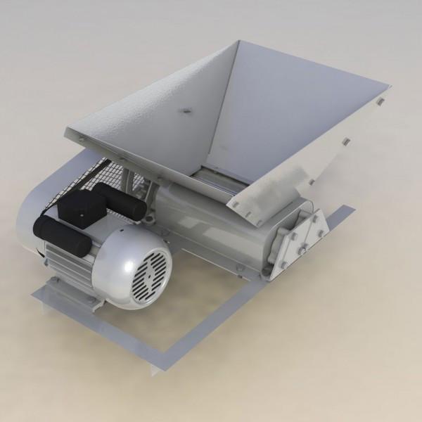Zdrobitor struguri electric, Capacitate de productie 500 kg foto mare