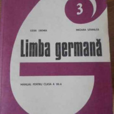 Limba Germana Manual Pentru Clasa A Vii-a - Lidia Eremia, Mioara Savinuta, 397564 - Carte in germana