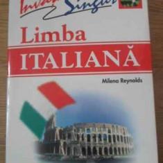 Invata Singur Limba Italiana. Carte + 3 Cd-uri - Milena Reynolds, 397631 - Carte in italiana