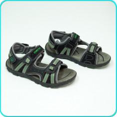 DE FIRMA → Sandale comode, aerisite, de calitate, piele, GEOX → baieti | nr. 37 - Sandale copii Geox, Culoare: Din imagine, Piele intoarsa
