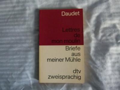 Daudet - Lettres des mon moulin-  fr.- germ. foto