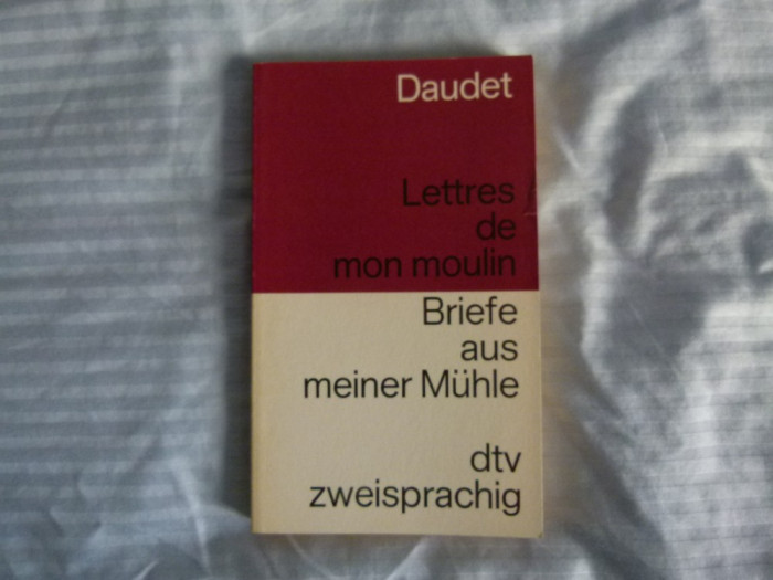 Daudet - Lettres des mon moulin-  fr.- germ.