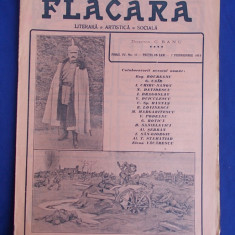 REVISTA FLACARA * ANUL IV - NR. 17 - 7 FEB.1915 * KAISERUL IN TINUTA DE CAMPANIE