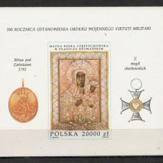Polonia.1992 200 ani Ordinul Militar