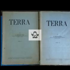 S Mehedinti Terra vol I, II Ed Nationala S Ciornei - Carte Geografie