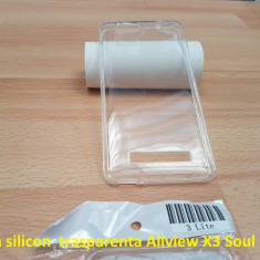 Husa silicon  trasparenta Allview X3 Soul Lite, Alt model telefon Allview, Transparent