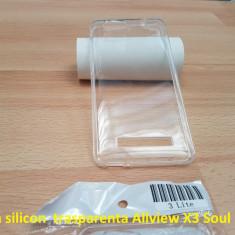 Husa silicon trasparenta Allview X3 Soul Lite - Husa Telefon Allview, Transparent