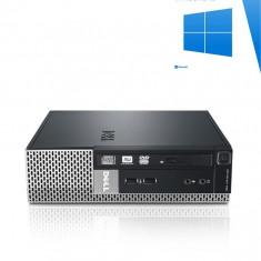 PC Refubished Dell Optiplex 790 USFF, i5-2400S, Windows 10 Home - Sisteme desktop fara monitor