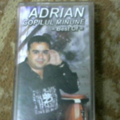 CASETA ORIGINALA, ADRIAN COPILU MINUNE, MANELE - Muzica Lautareasca Altele, Casete audio