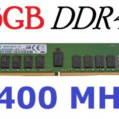 Memorii 16GB DDR4-2400, registered ECC - LGA2011 v3 v4 Xeon E5 RDIMM - Memorie server Samsung, Peste 2000 mhz