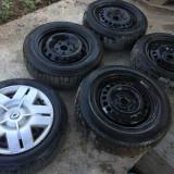 Set 5 x Roti 15'' Renault Laguna 2 Ford Mondeo MK3 ET50 Jante Tabla Cauciucuri ! - Janta tabla, Numar prezoane: 5