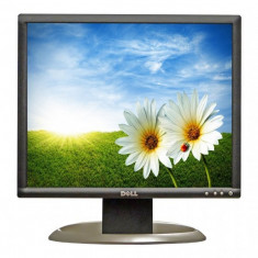 Monitor 19 inch LCD DELL Ultrasharp 1905FP, Silver & Black, Panou Grad B - Monitor LCD Dell, 1280 x 1024