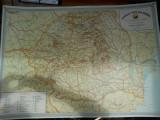 Harta Turistica Romania ONT CARPATI