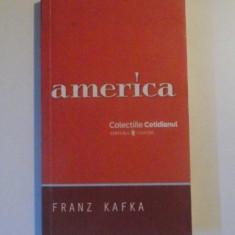 AMERICA de FRANZ KAFKA, TRADUCERE DE PARMENA ZIRINA, 2008 - Carte in germana