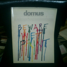 Domus monthly magazine of architecture, design, art 734
