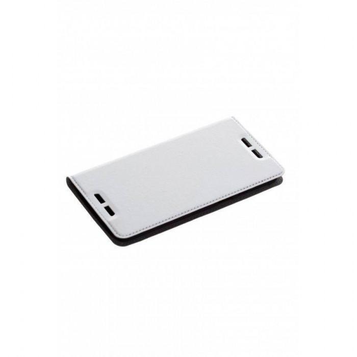 Husa Flip Cover Tellur Premium HTC 828 White foto mare