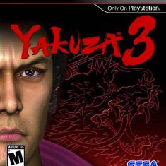 Joc consola Sega Yakuza 3 PS3 - Jocuri PS3 Sega, Actiune, 18+