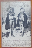 Hutuli din Bucovina , circulatie austriaca , 1903 , CP editata la Cernauti, Circulata, Printata