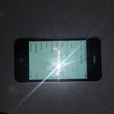 iPhone 4 Apple, Negru, 16GB, Vodafone
