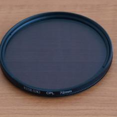 Filtru CPL Polarizare Circulara 72mm - Filtru foto