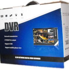 DVR YS-5604V cu patru canale video, hard-disk si una camera video