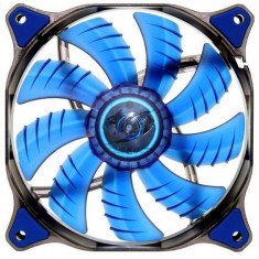 Ventilator pentru carcasa Cougar Dual-X Blue LED 140mm - Cooler PC