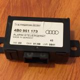 ECU Control Unitate Alarma Audi A3 A4 A6 A8 Modul Calculator 4B0 951 173 !