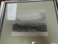 Gravura Bucuresti foto