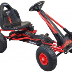 Kart cu pedale Baby Mix Speed Fever Red