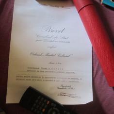 Brevet ordinul meritul cultural clasa v anul 1968 c12
