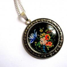 colier floral 28921