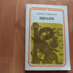 DIDAHII-ANTIM IVIREANUL - Carti Predici