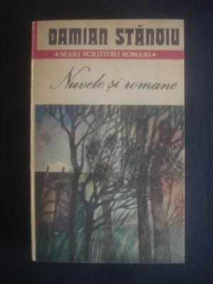 DAMIAN STANOIU - NUVELE SI ROMANE foto