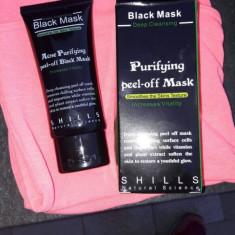 Mască neagră Black Mask Purifying peel-off Mask Shills Natural Science - Masca fata