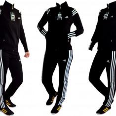 Trening Adidas pentru dama. - Trening dama Adidas, Marime: S, M, L, XL, XXL, Culoare: Negru, Bumbac