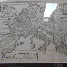 Harta Europei 1680