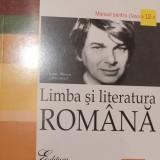 Limba si literatura romana. Manual pt cls. a XII a de Victor Lisman - Manual scolar, Clasa 12