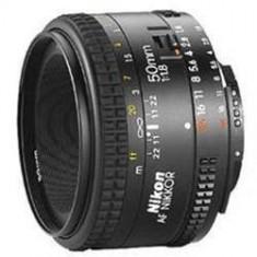 Obiectiv Nikon Camera Foto 50mm f/1.8D AF NIKKOR - Obiectiv DSLR Nikon, Autofocus, Minolta - Md