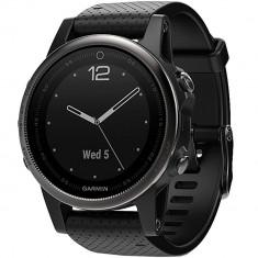 Smartwatch Garmin Fenix 5s Sapphire Edition Otel Inoxidabil Negru