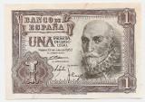 SPANIA 1 PESETA 1953 AUNC