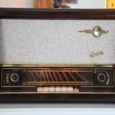 Radio lampi Graetz Super 170W, complet restaurat - Aparat radio