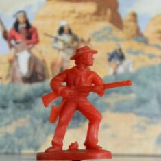 (13)Cowboy si indieni romanesti, perioada comunista, figurina plastic, anii '80