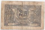 ROMANIA 2 LEI 1920 U