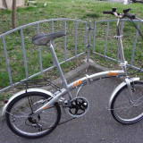 """Bicicleta pliabila Scamper, roti 20"""", foarte usoara, Numar viteze: 6"""