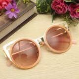 Ochelari Soare Fashion Dama CAT EYE DESIGN - RAma MEtalica , UV400 - Model 3, Femei, Protectie UV 100%