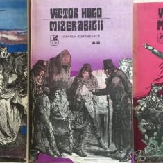 Mizerabilii de Victor Hugo (3 vol) - Roman