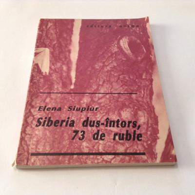 ELENA SIUPIUR - SIBERIA DUS-INTORS,73 DE RUBLE ,RF8/3 foto