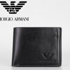 Vand portofel Armani Exchange original din piele - model 422418 - Portofel Barbati Emporio Armani